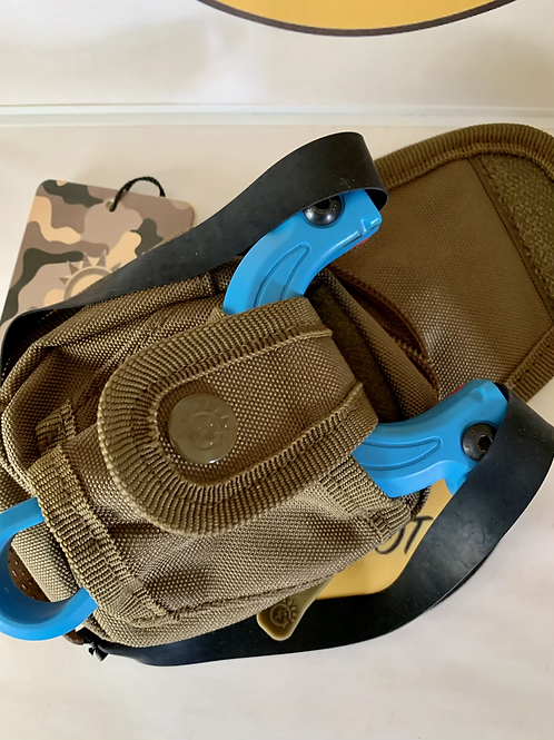 Tactical Slingshot Holster With Ammo Pouch