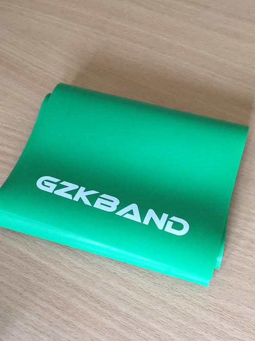 Green GZK Slingshot Elastic. 2m Rolls