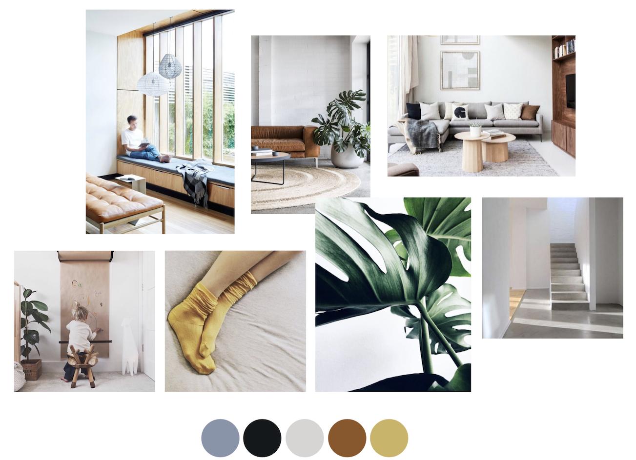 Interieurontwerp Minimalistisch Huis Nie