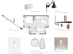 Lichtplan voor interieurontwerp en keuke