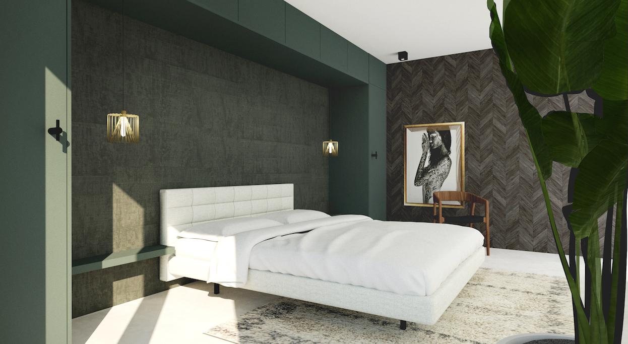 Urban Chic slaapkamer Amsterdam