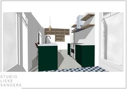 interieurontwerp nieuwbouwwoning Weespersluis