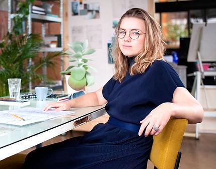 Liek Sanders - interieurontwerp en eigenaar Studio Lieke Sanders