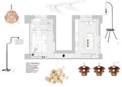 Interieurontwerp en lichtplan zelfbouwpr