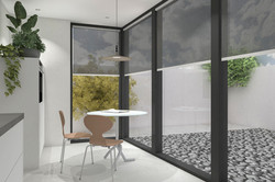 3D render voor interieurontwerp Nijmegen
