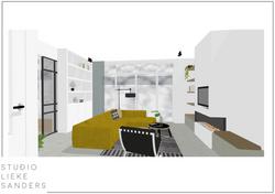 Interieurontwerp en interieuradvies 3D nieuwbouwwoning Weespersluis