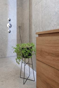 Minimalistische badkamer Rivierenbuurt A