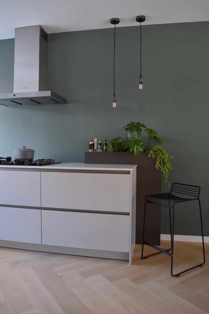 keukenontwerp nieuwbouwwoning Weesp