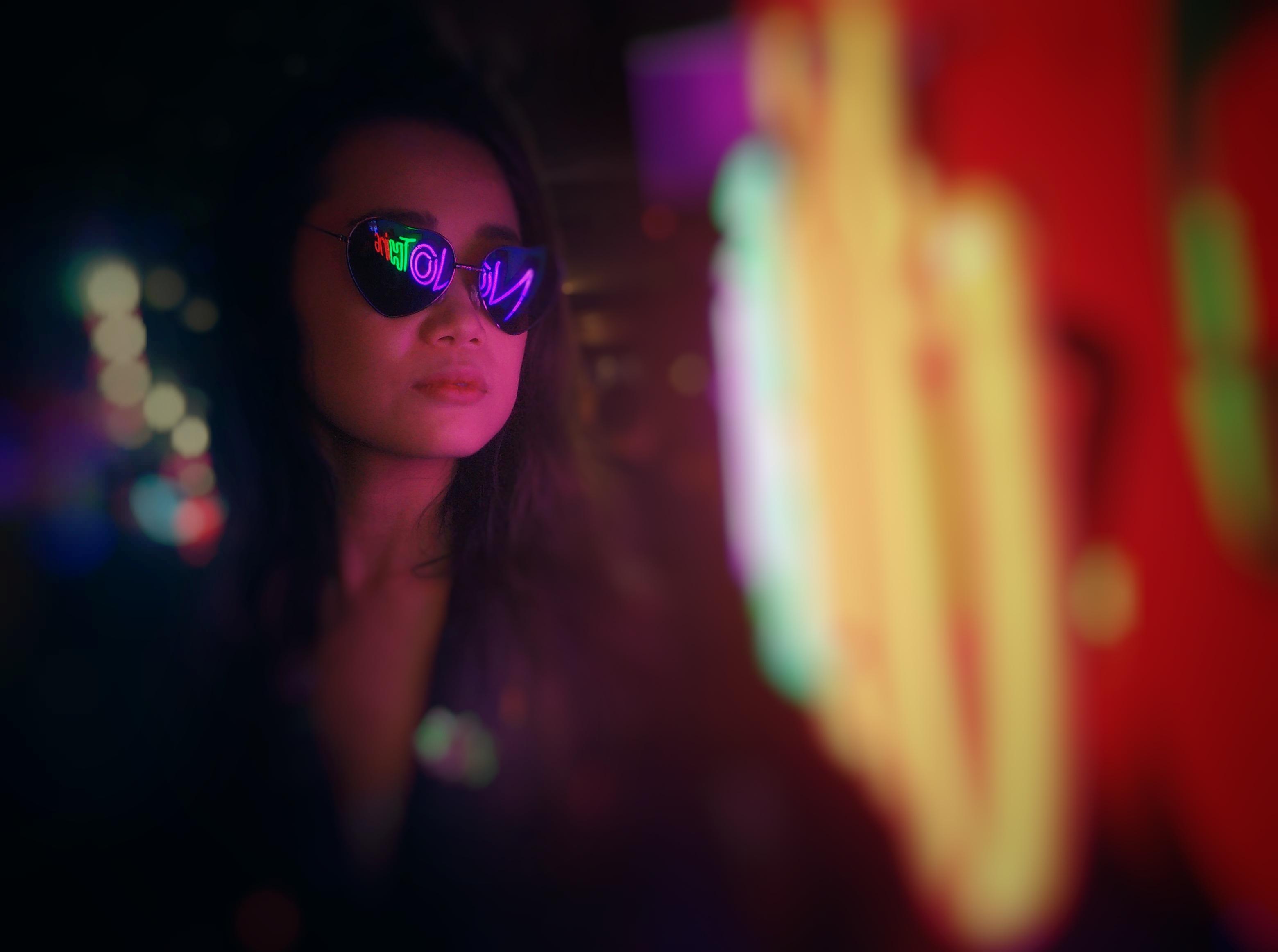 Haruka: A Study in Neon