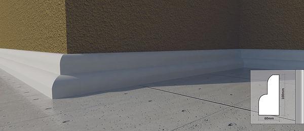 Rodapé, Moldura, Vista, Cimalha, Moldura de Isopor, Moldua de Concreto