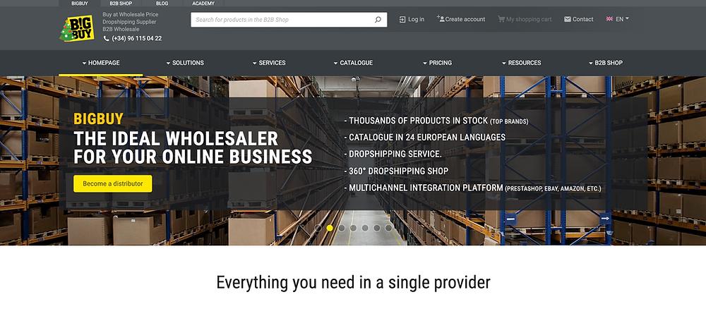bigbuy homepage