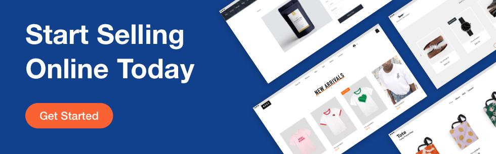 Wix Stores eCommerce platform banner