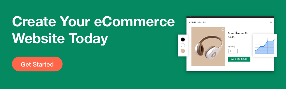 Wix eCommerce platform banner