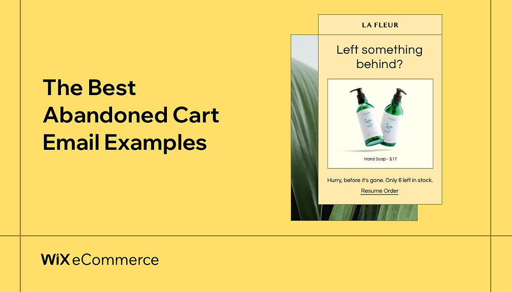 Abandoned Cart Emails: Examples & Tips to Bring Shoppers Back