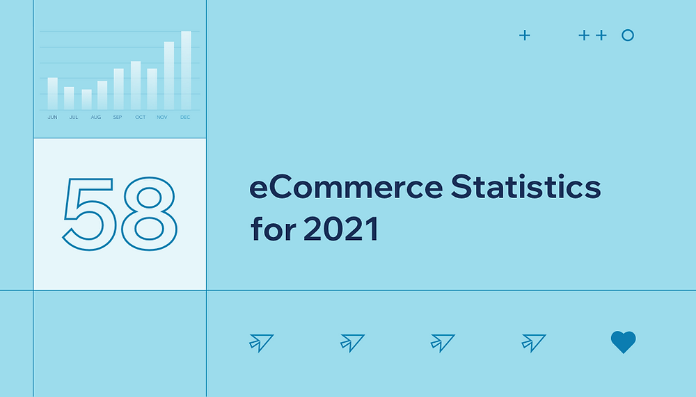 58 eCommerce Statistics to Take Your Business into 2021