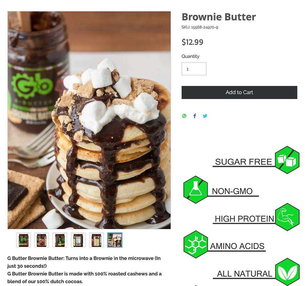 gbutter product image example