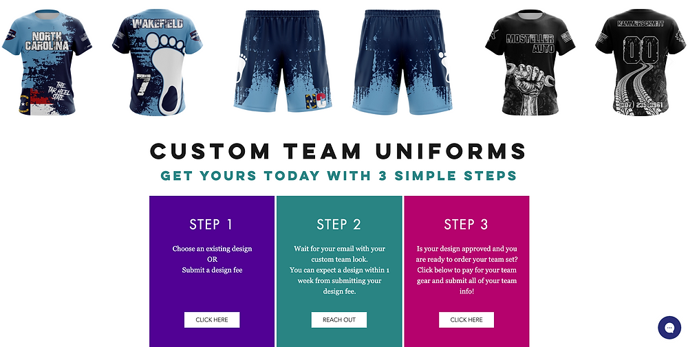 unicorn customized team uniforms