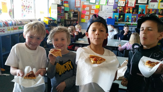 The Real Pizza Fractions in Year 2
