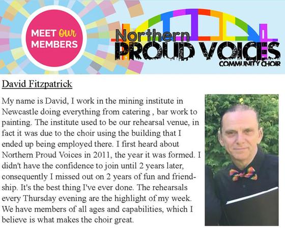 Meet Our Members: David Fitzpatrick