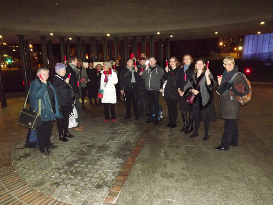NPV @ World AIDS Day Vigil