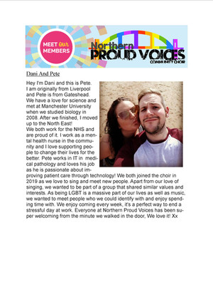Meet Our Member: Dani and Pete