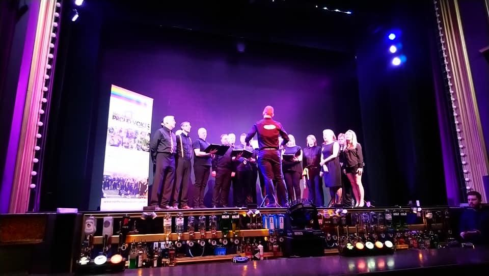 Performing at Boulevard
