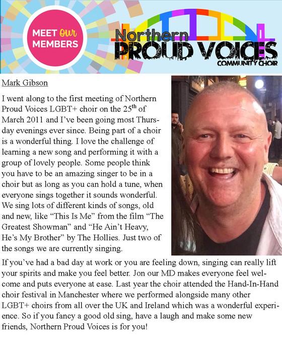 Meet Our Members: Mark