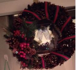 Wreath by Judy Laplante