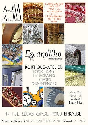 escandilha boutique artisans créateurs brioude