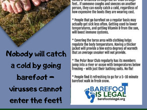 Barefoot is legal!