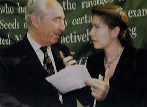 Joelle Isler Shimon Peres