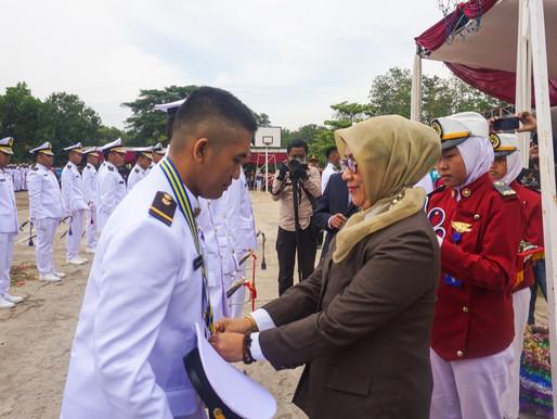 Pelantikan Taruna dan Wisuda Perwira Muda Pelayaran Niaga SMKN 2 Subang