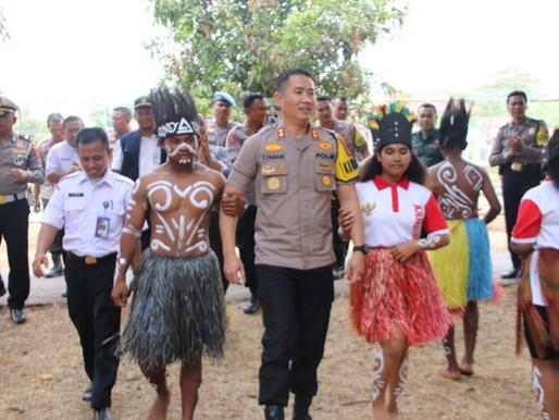 Kapolres Subang gelar Silahturahmi Pelajar asal Papua di SMK Negeri 2 Subang