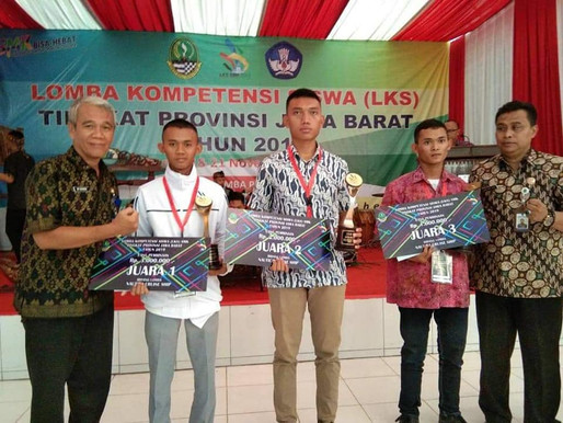 SMK Negeri 2 Subang Raih Juara LKS Tingkat Jawa Barat 2019