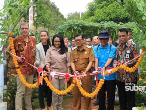 Kerjasama vegIMPACT Belanda dan SMKN 2 Subang Gelar Expo Teknologi Hortikultura