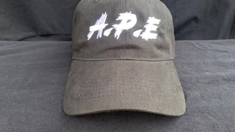 A.P.E Black Strap Cap