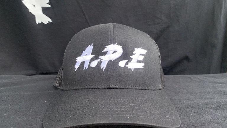 Black Snap Back Cap