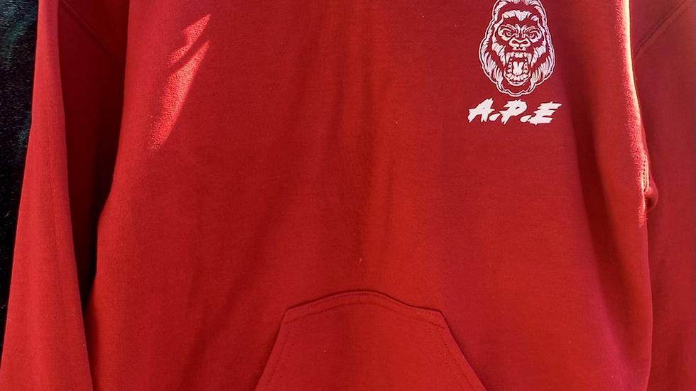 Rage Red Hoodie