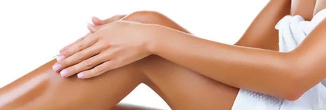 Восковая депиляция ножки полностью