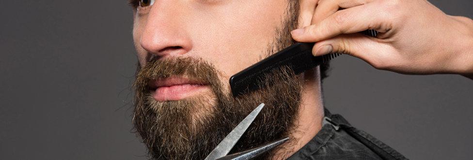 Комплекс (стрижка под насадку + оформление бороды)