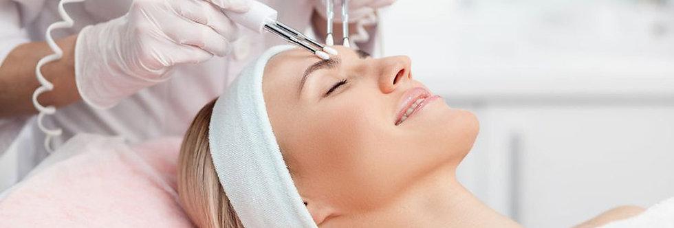 3 сеанса микротоковой терапии лица и шеи