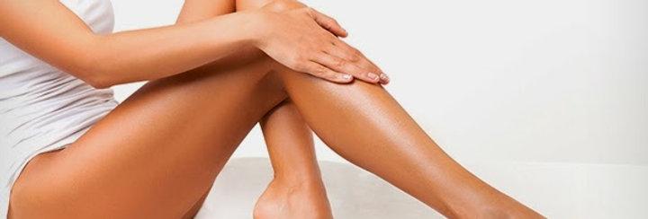 Восковая депиляция голени