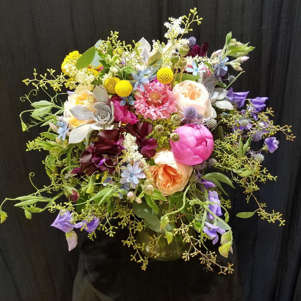 wild flowers bridal