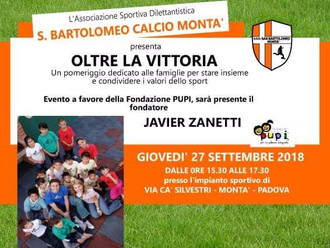 EVENTO SPORTIVO con Javier Zanetti