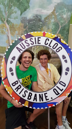 Nathan and Olive at Aussie Clog 2018