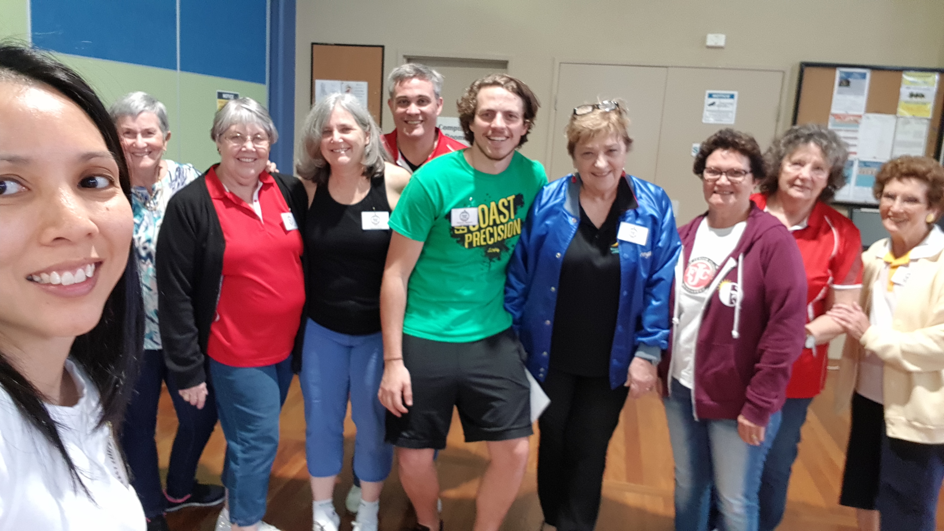 Instructors at Aussie Clog 2018