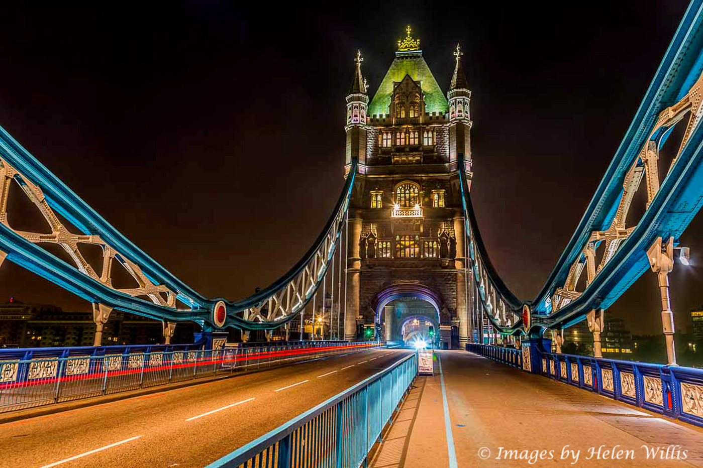 Tower Bridge at 3am
