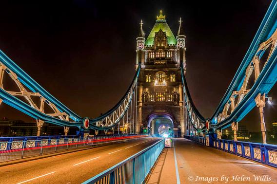 Tower Bridge at 3am