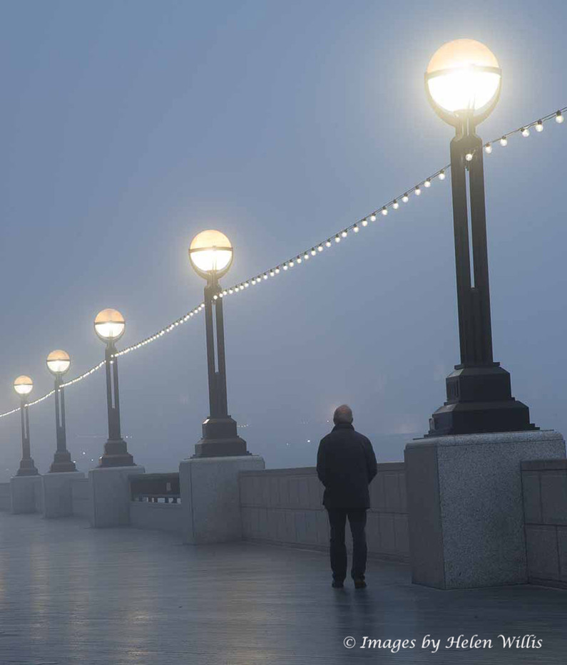 Misty Morning On The Embankment