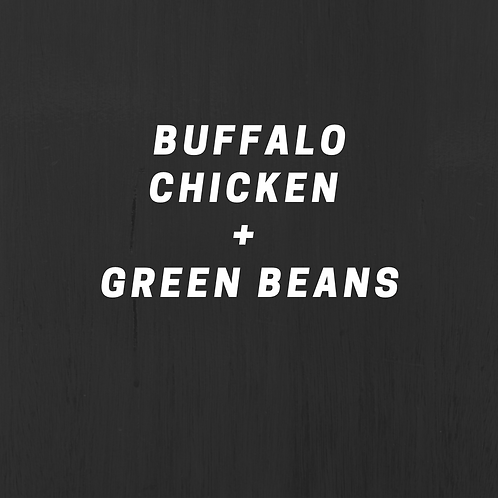 Buffalo Chicken & Green Beans